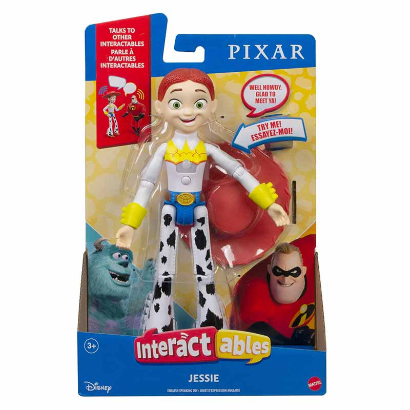 Pixar figura interativa Jessie