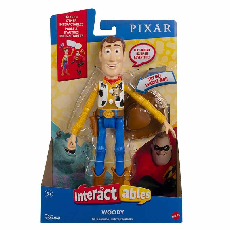 Pixar figura interativa Woody