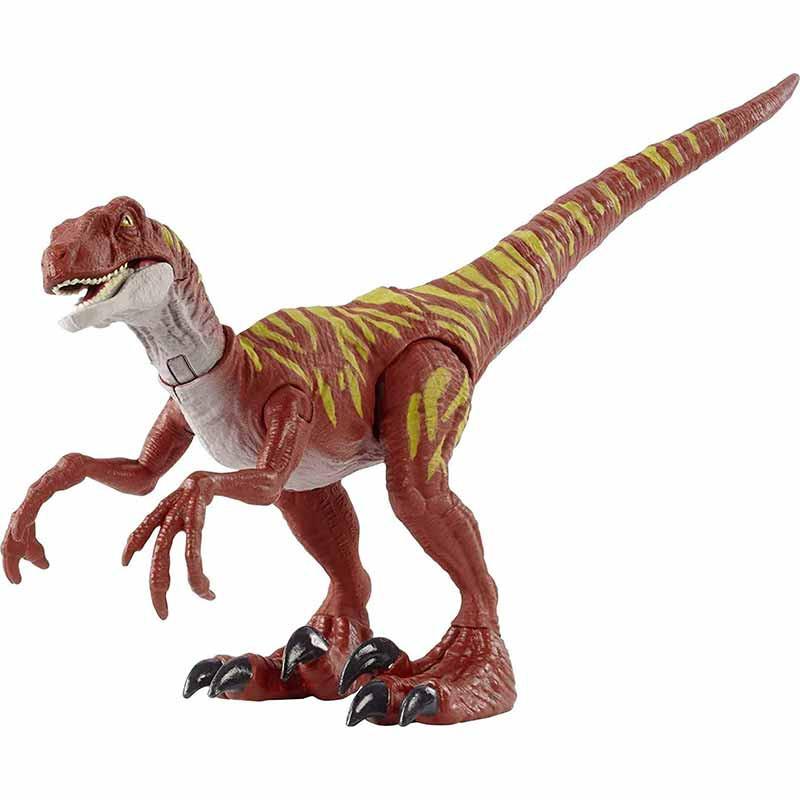 Jurassic World ataque Velociraptor Jumping