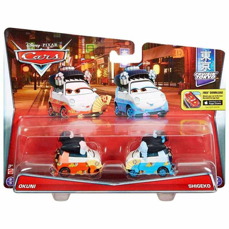 Cars Pack de 2 veículos Cars 3 Okuni y Shigeko