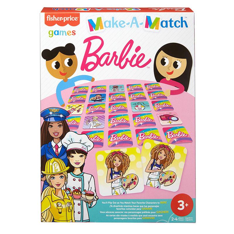 Fisher-Price Games Jogo de memória Barbie