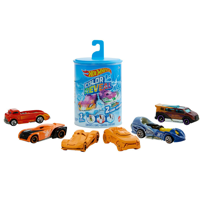 Hot Wheels Color Reveal
