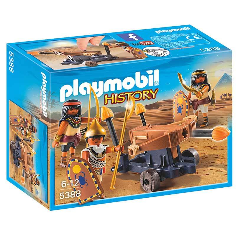 Playmobil History Egípcios com Catapulta