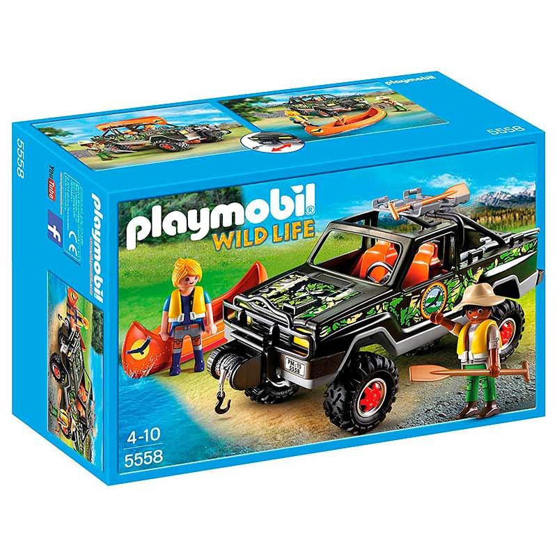 Playmobil pick-up de aventureiros