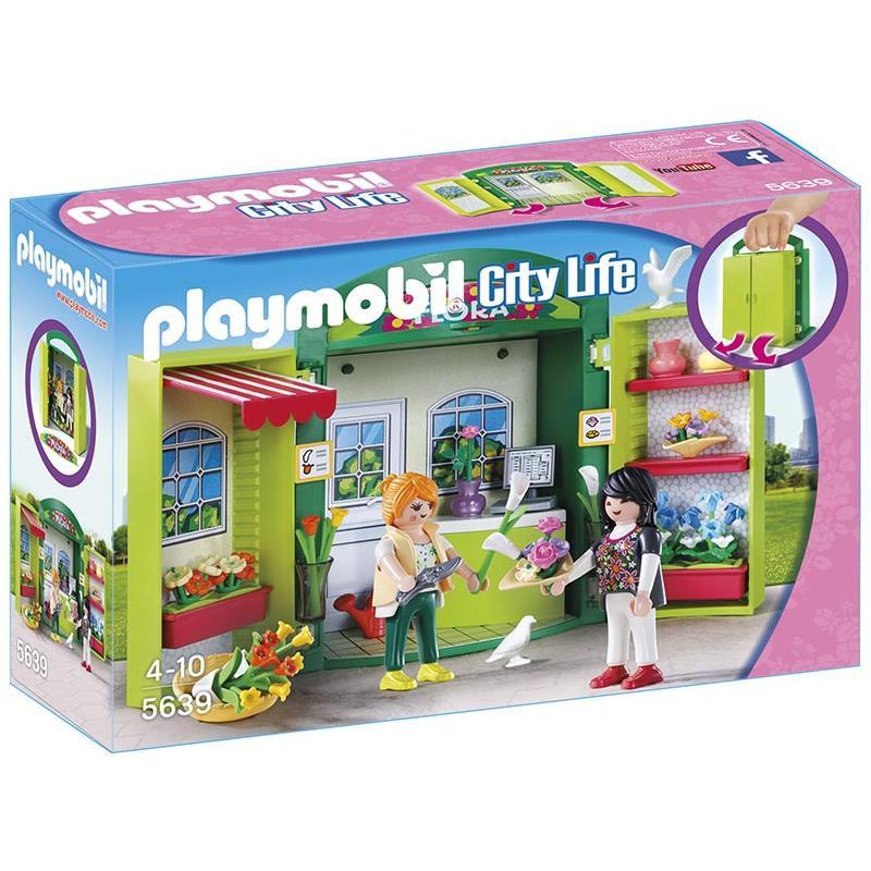Playmobil Cofre Loja de Flores