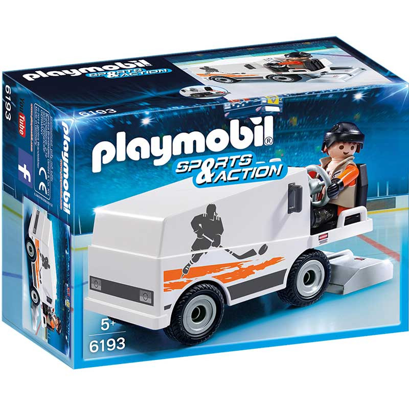Playmobil sports and action polidor de gelo