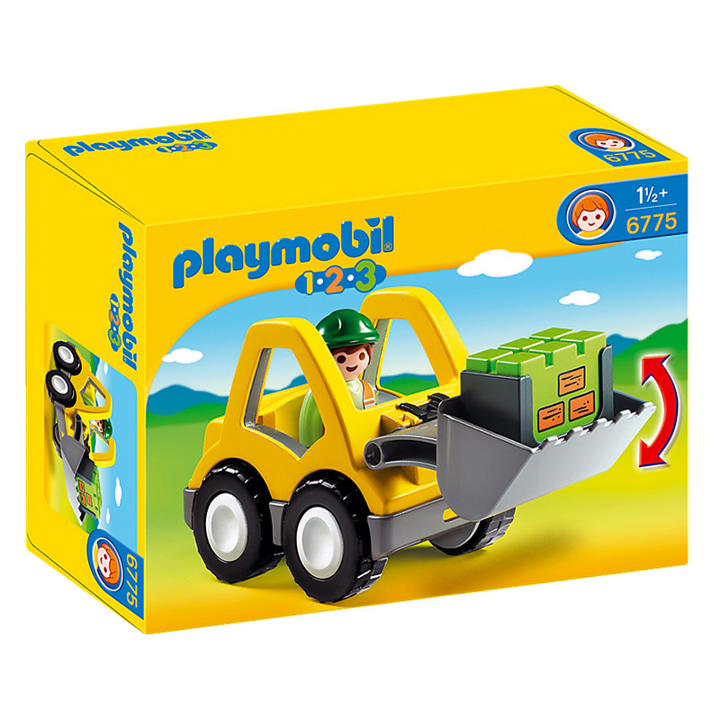 Playmobil 1.2.3 Tractor