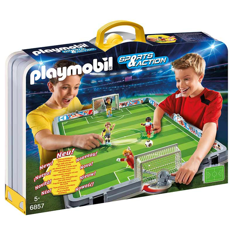 Playmobil Sport & Action set de futebol mala