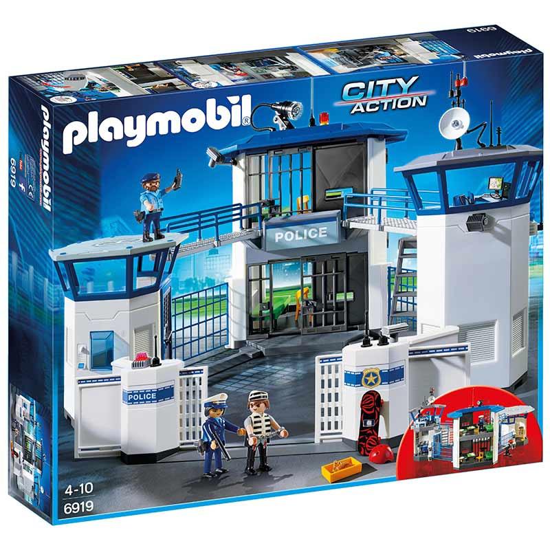 Playmobil City Action Esquadra Polícia com Prisão