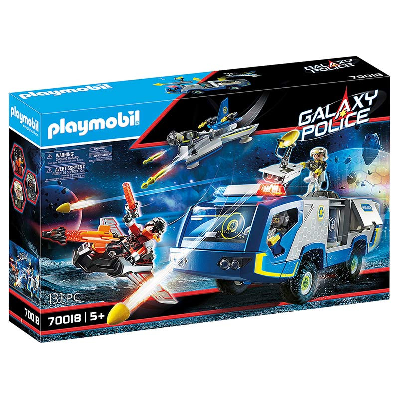 Playmobil Polícia Galáctica com Camião