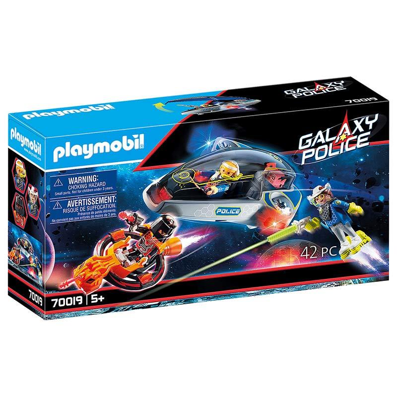 Playmobil Polícia Galáctica com Planador