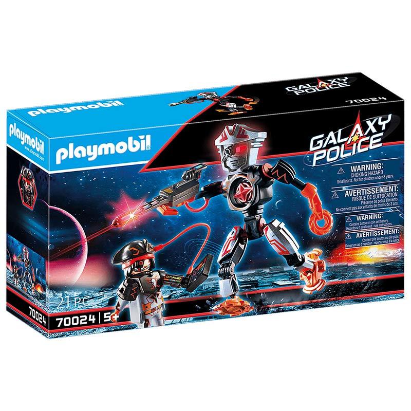 Playmobil Piratas Galáctico Robô