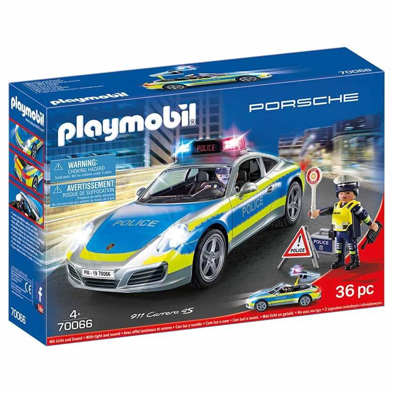 Playmobil Porsche 911 Carrera 4S da Polícia