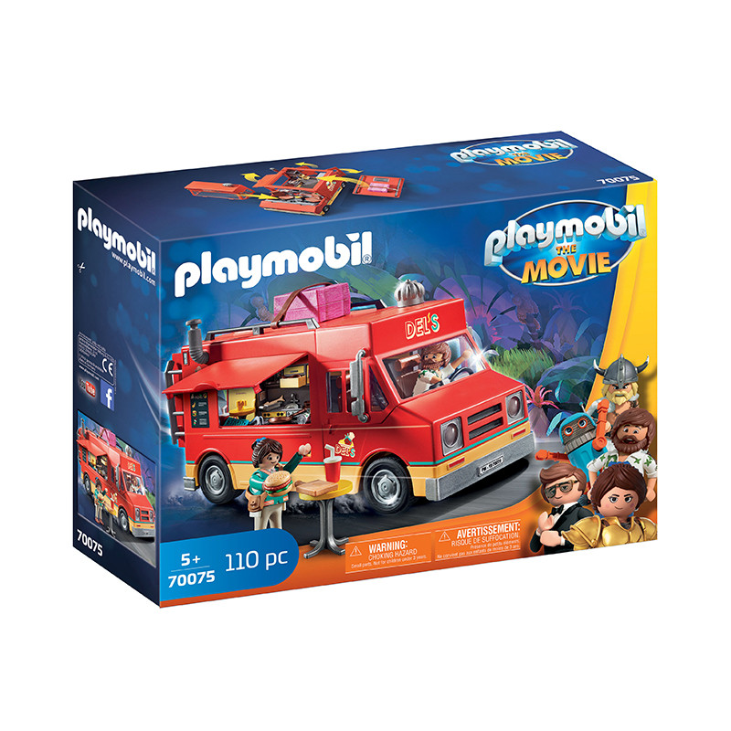 Playmobil The Movie Food Truck Del