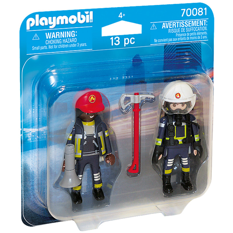 Playmobil City Action DuoPack Bombeiros de Resgate
