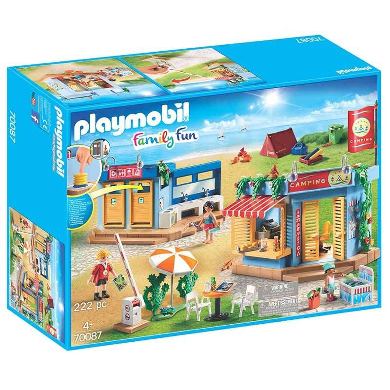 Playmobil Family Fun Parque de Campismo