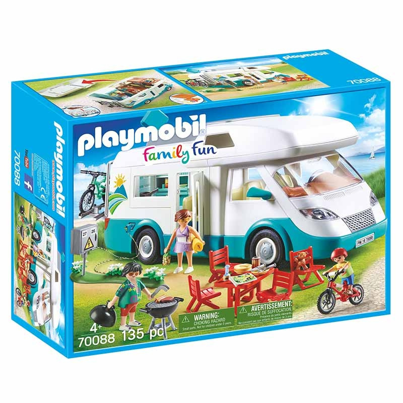 Playmobil Family Fun autocaravana Familiar