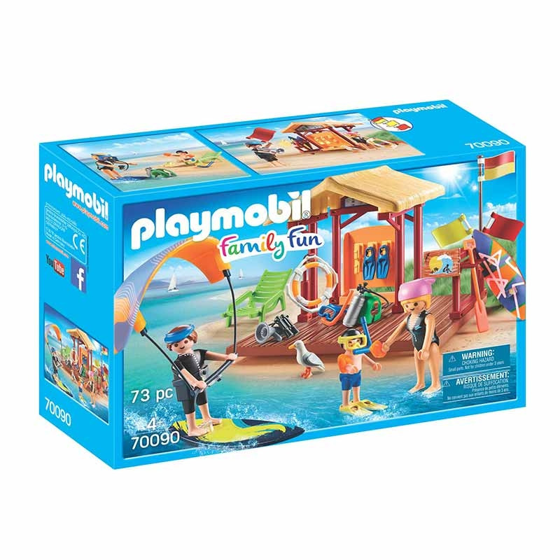 Playmobil Family Fun Escola de Desportos Aquáticos