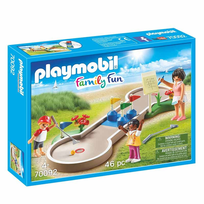 Playmobil Family Fun Minigolfe