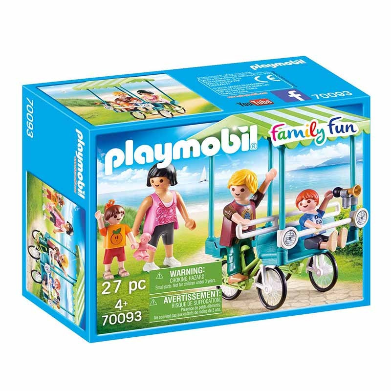 Playmobil Family Fun Bicicleta Familiar