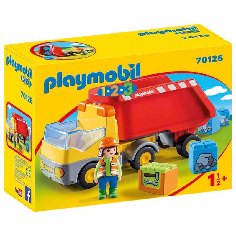 Playmobil 1.2.3 Camião de Construção