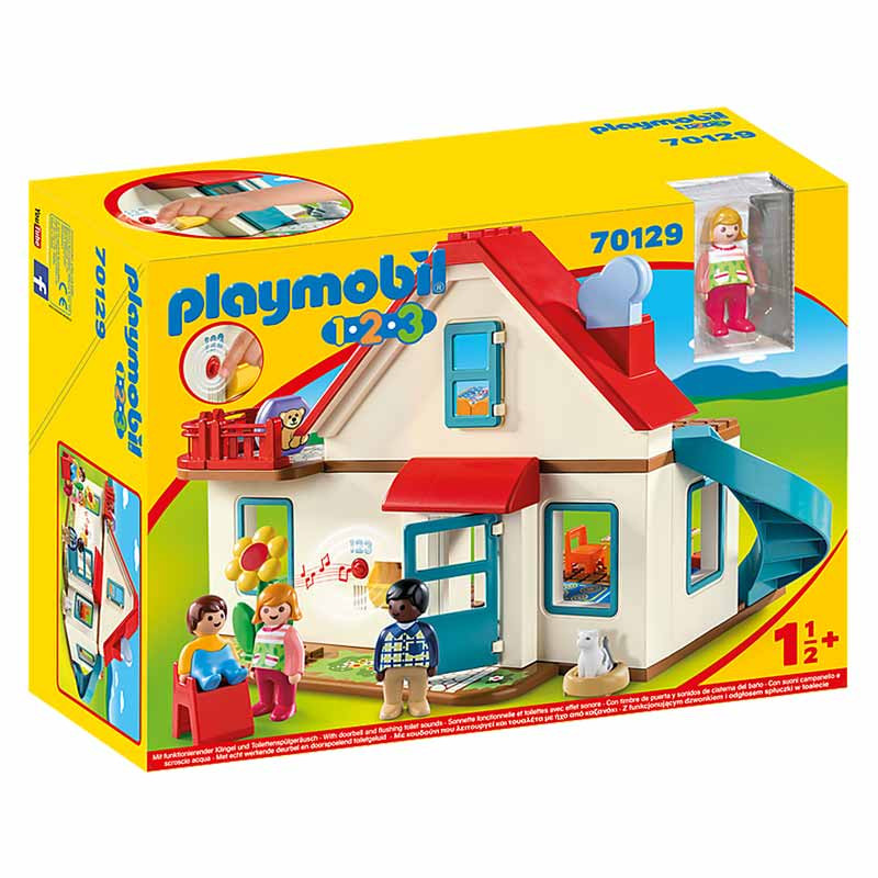 Playmobil 1.2.3. Casa unifamiliar