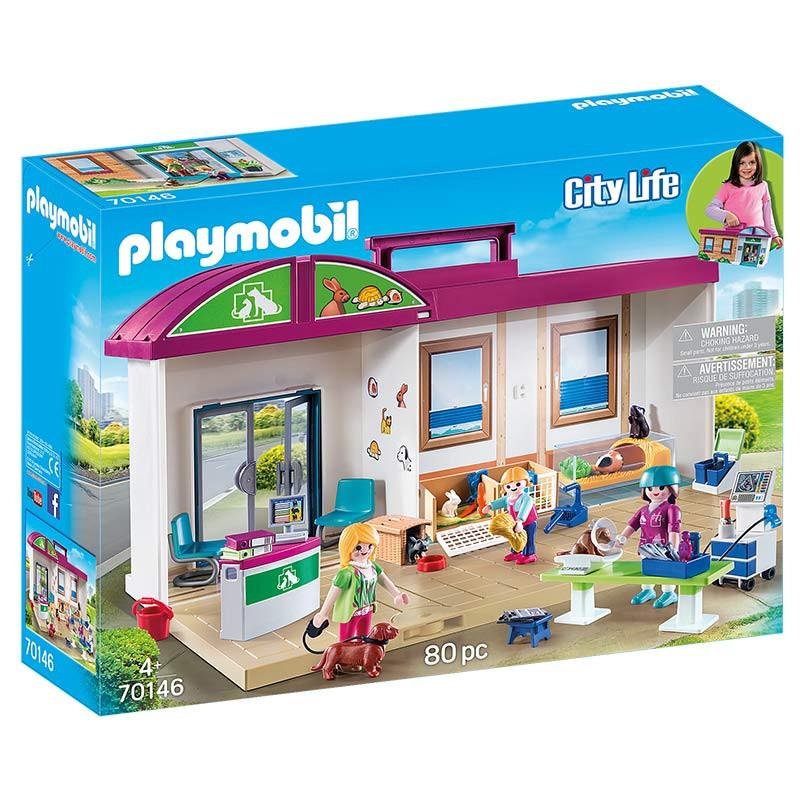 Playmobil Maleta Clínica Veterinária