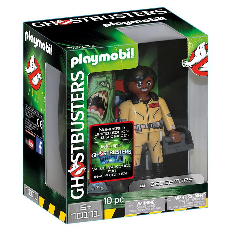 Playmobil Ghostbusters figura W.Zeddemore