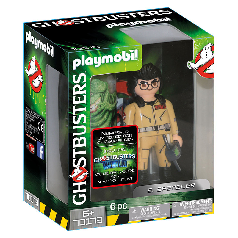 Playmobil Ghostbusters figura E.Spengler