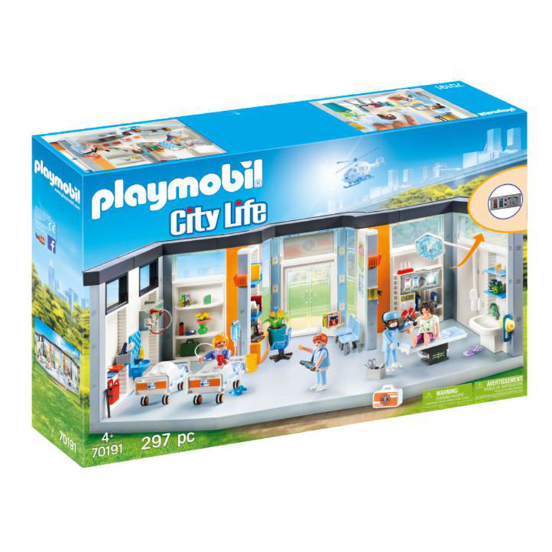 Playmobil City Life Ala Hospitalar Mobilada