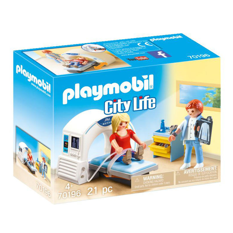 Playmobil City Life Radiologista
