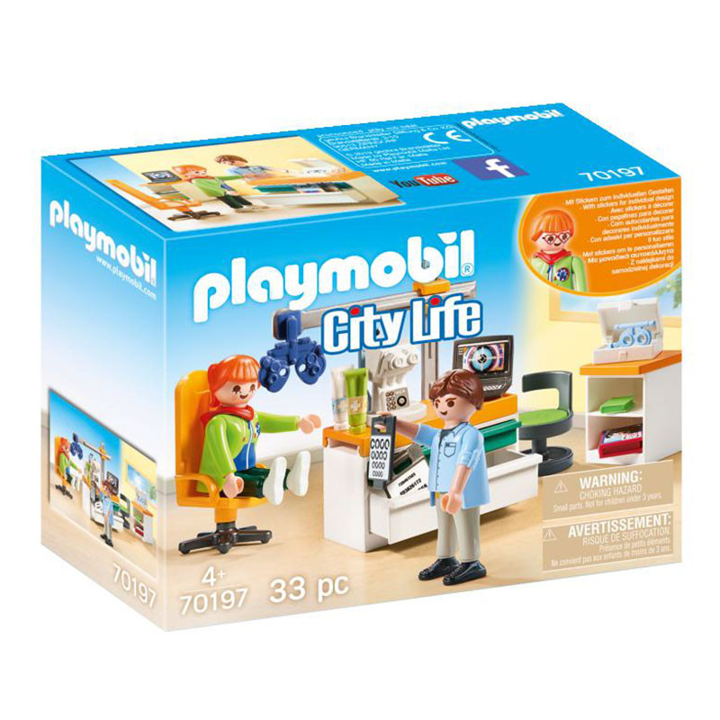 Playmobil City Life Oftalmologista