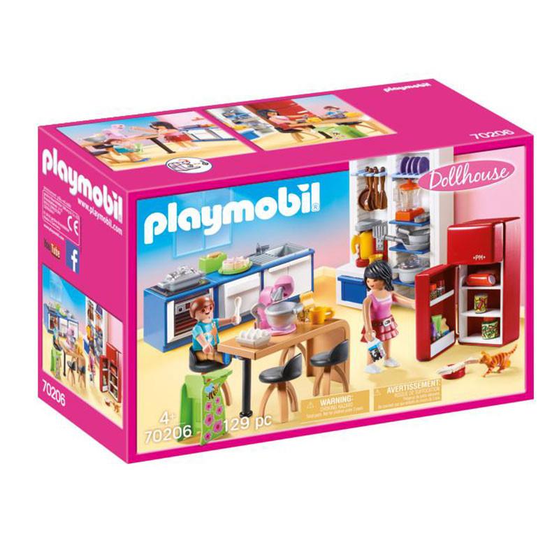 Playmobil Dollhouse Cozinha Familiar