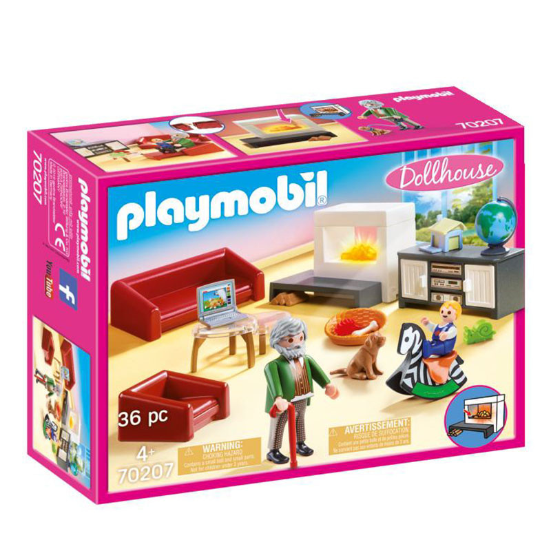 Playmobil Dollhouse Sala de Estar Acolhedora