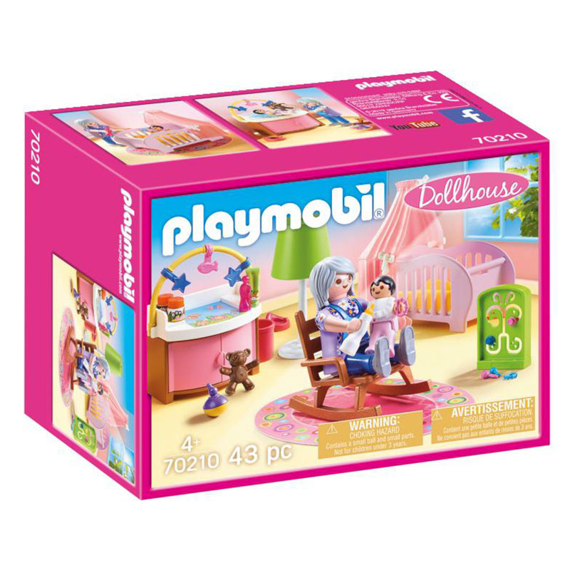 Playmobil Dollhouse Quarto do Bebé