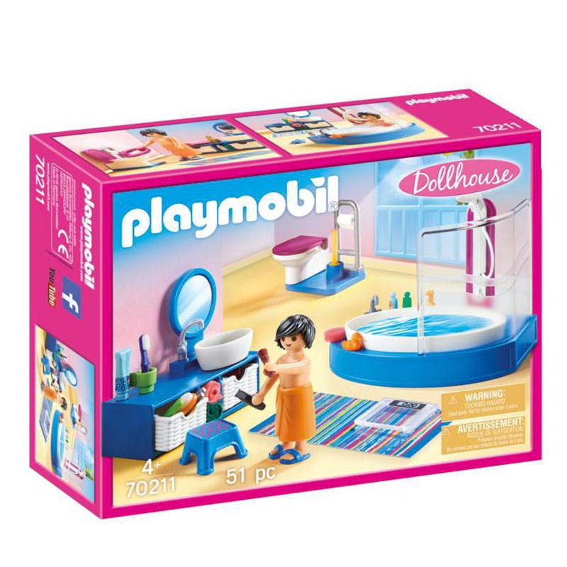 Playmobil Dollhouse Casa de Banho