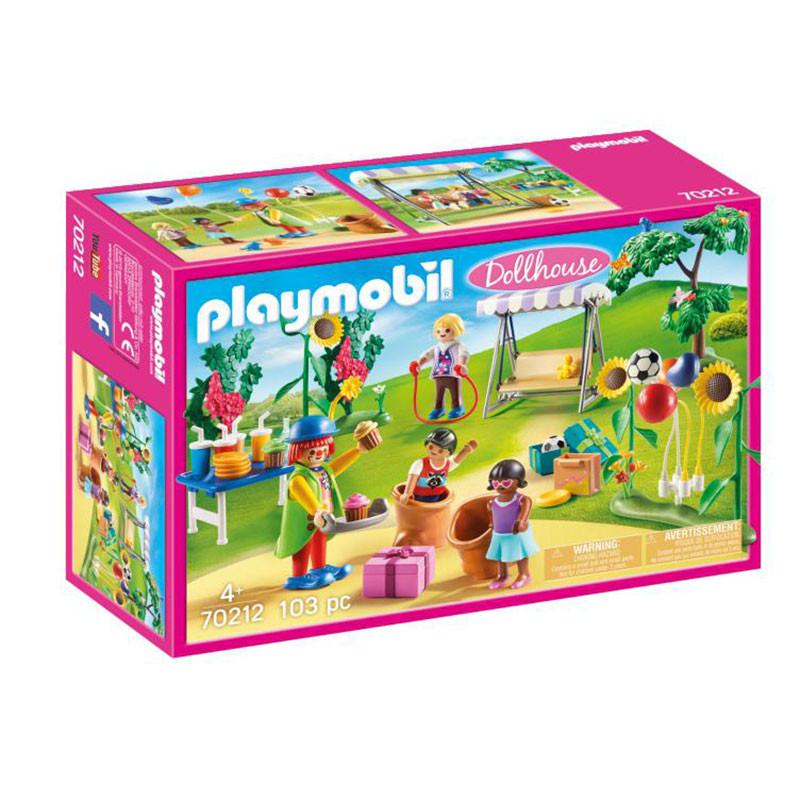 Playmobil Dollhouse Festa Aniversário com palhaço