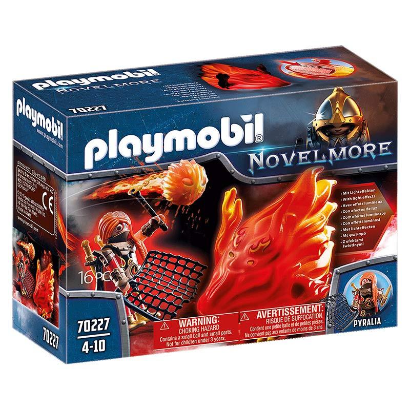 Playmobil Espírito de Fogo dos Bandidos de Burnham