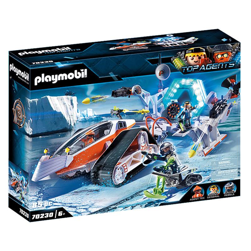 Playmobil Top Agents Spy Team Comando de Neve