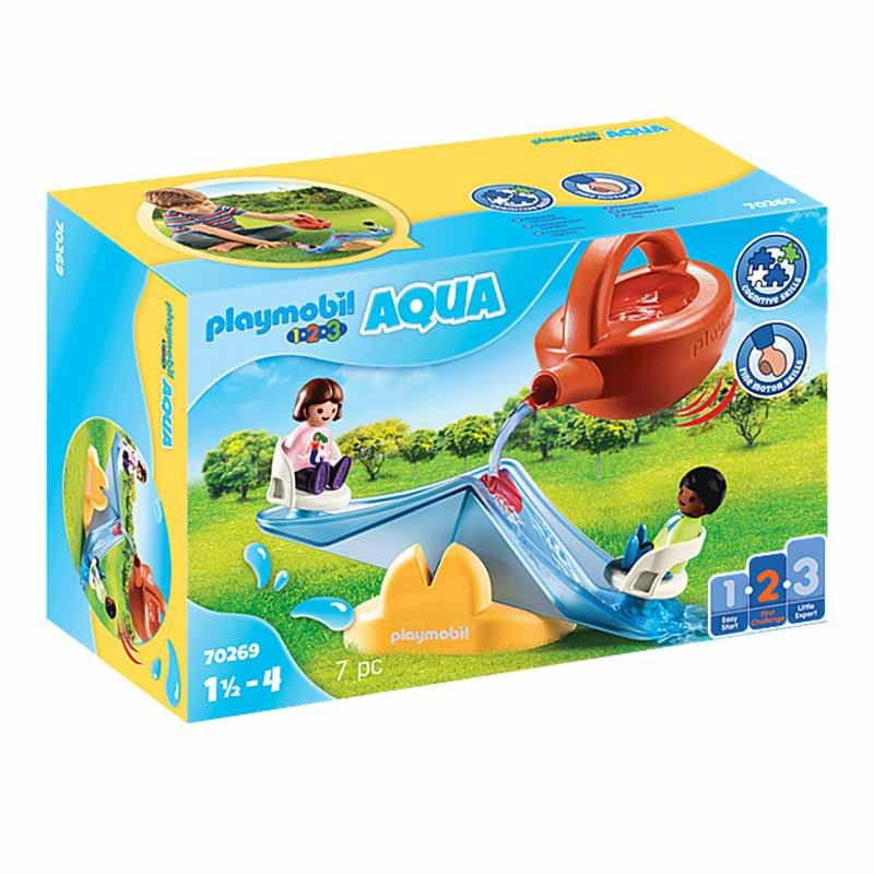 Playmobil 1.2.3 Baloiço de Água com Regador