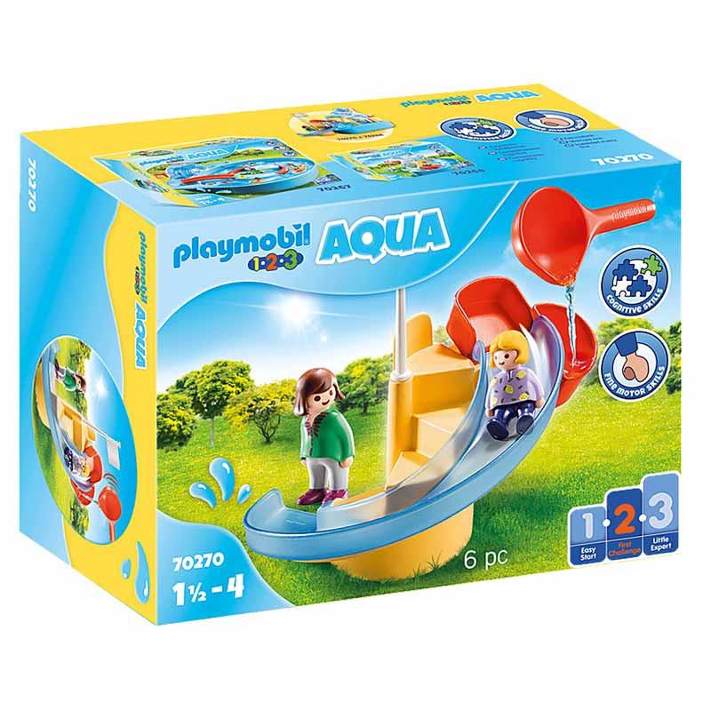 Playmobil 1.2.3 Escorrega de Água