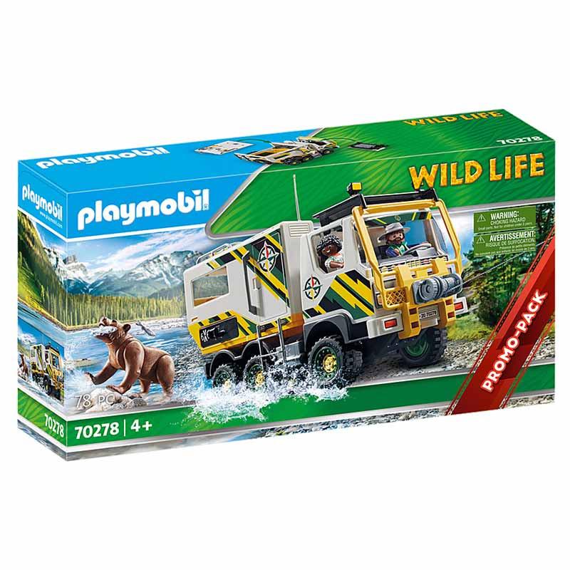 Playmobil Wild Life Camião de Aventura