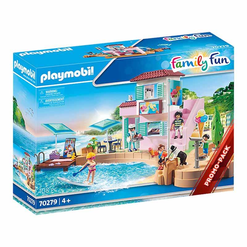 Playmobil Family Fun Gelataria no Porto