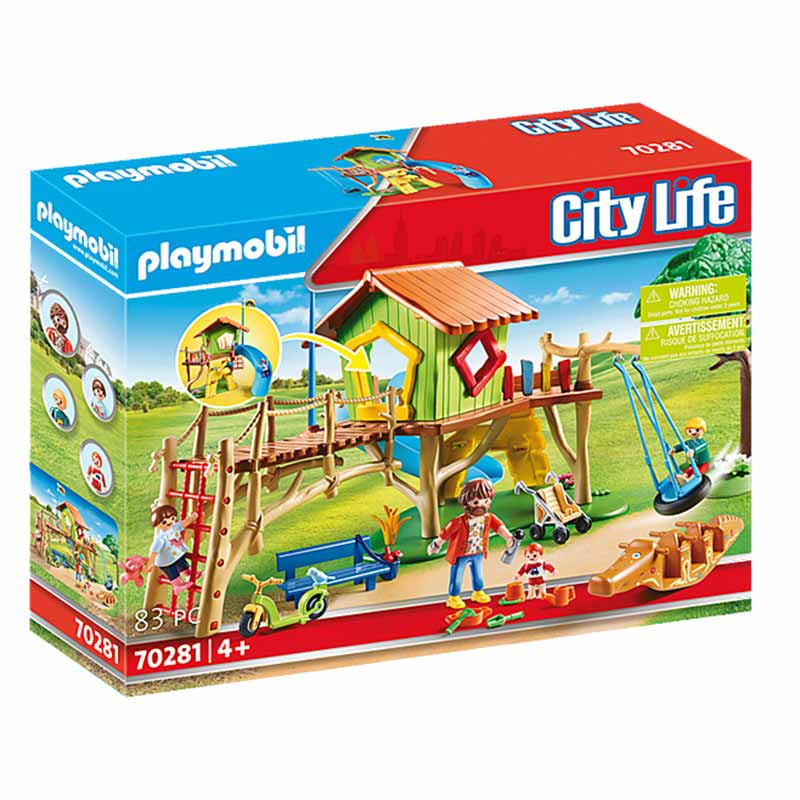Playmobil City Life Parque Infantil de Aventura