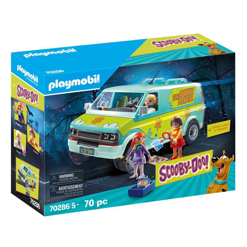 Playmobil Scooby Doo A Carrinha Mistério
