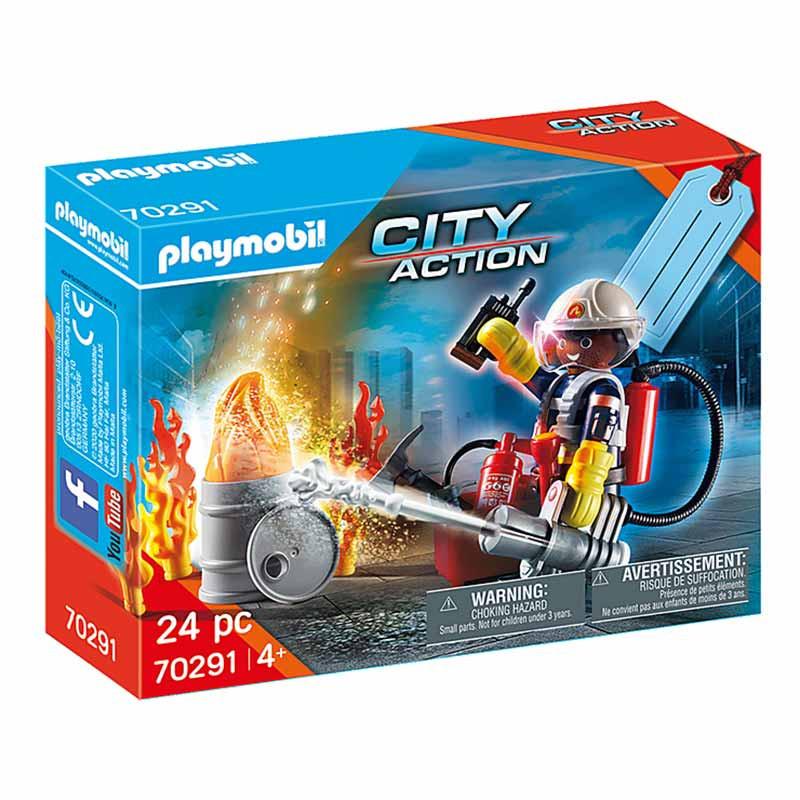 Playmobil Set de Bombeiros
