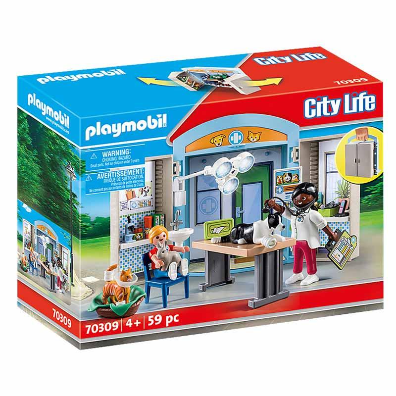 Playmobil Cofre Clínica Veterinária