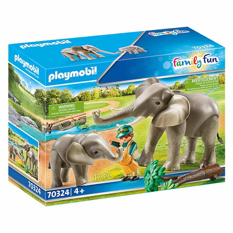 Playmobil Family Fun Recinto dos Elefantes