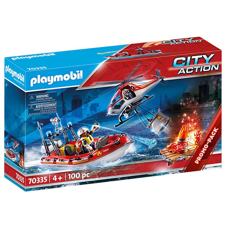 Playmobil City Action Missão de Resgate