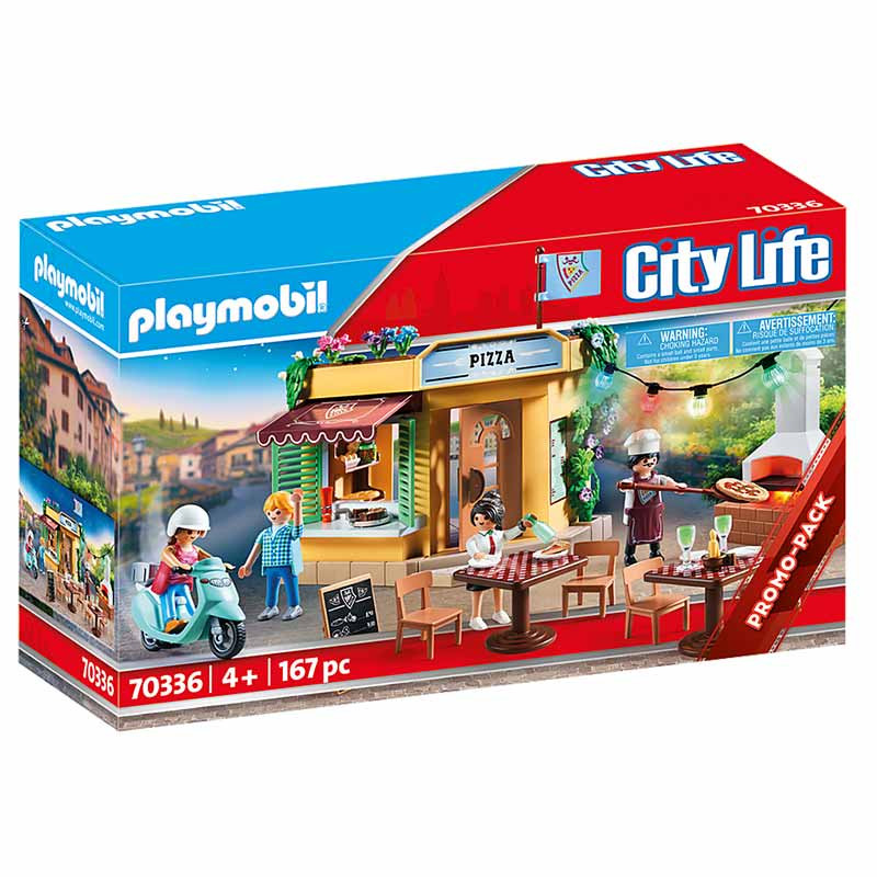 Playmobil City Life Pizzaria